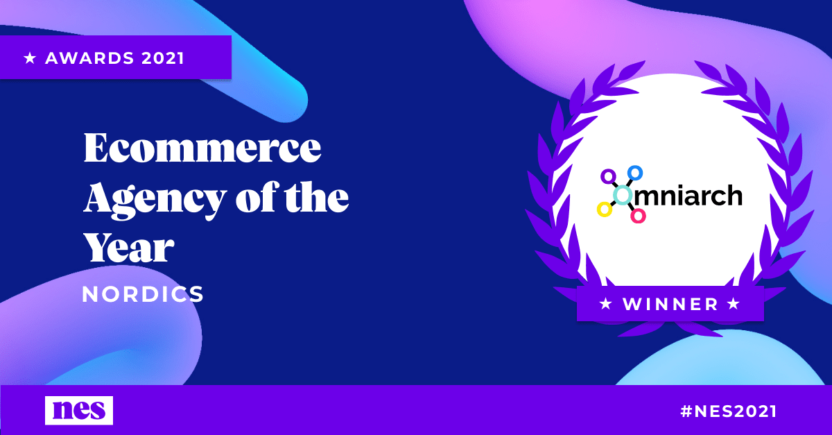 Omniarch Nordic Ecommerce Agency of the Year